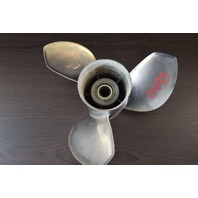 Attwood Ballistic Stainless Right-Hand 3 blade Propeller 335032 13-3/8 x 19
