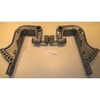 1994-1997 Yamaha Transom Bracket Set 676-43111-04-4D 676-43112-04-4D 40 HP
