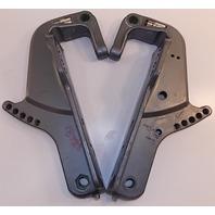 1984-1995 Yamaha Clamp Bracket Set 6H5-43111-03-4D 6H5-43112-03-EK 25 40 50 HP