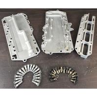 76303 64108 64107 Mercury 1973-75 Exhaust Manifold Baffle Plate 85 HP REFURBED!