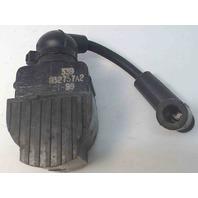 "832757A4 7370A13 Mercury 1972-06 Ignition Coil w/3-1/2"" Lead 6 8+ HP 1 YEAR WTY!"