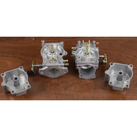 REBUILT! 1989-93 Johnson Evinrude Carburetor Set 398340 398347 40 48 50 HP 2 cyl