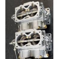 REBUILT! 1988-93 Yamaha Carburetor Set 6E5-14301-13-00 6E5-14302-13-00 115 130 HP