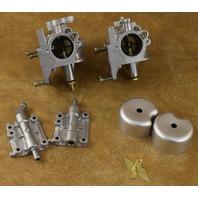 REBUILT! 1989-1997 Mercury Carburetor Set WMA-7-1 WMA-7-3 40 45 HP 4 cylinder
