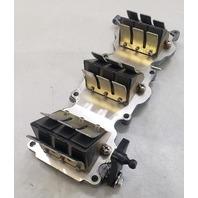 6H3-13641-11-94 6H3-13610-00-00 Yamaha 1984-91 Intake Manifold W/ Reeds 60 70 HP