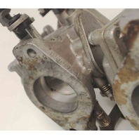 6H500-Casting Number Yamaha Carburetor Set of 3 50 HP - AS IS