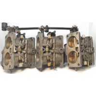 WHM-14 WMH14 Mercury Carburetor Set Unknown Years & HPs  FOR PARTS OR REPAIR