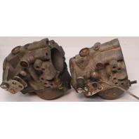 395313 395314 C# 330669 1984 Johnson Evinrude Carburetor Set 40 HP 2 Cyl REBUILT