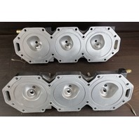 850275A2 850276A4 Mercury 1998-1999 Cylinder Head Set 200 HP V6 ONLY