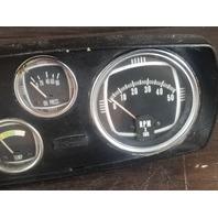 Kiekhaefer Mercury Dash W/ Full Power Trim, Amprese, Temp, Oil Press, RPM Gauges