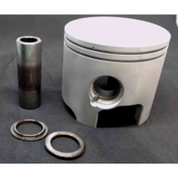C# 859297 Mercury & Mariner Standard 2-Ring Piston CLEAN