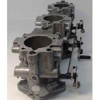 439442 C# 434159 Johnson Evinrude 1989-1990 Carburetor Set 65 70 HP 3 Cyl REBUILT!