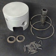 766-8381-C#  Mercury 2-Ring Standard Piston with Rings