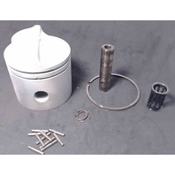 319458-C# Johnson Evinrude 2-Ring Standard Piston with Hardware REFURBISHED!