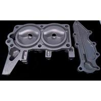 320770 0320770 Johnson Evinrude 1975 Cylinder Head 9.9 HP 2 cylinder REFURBED!