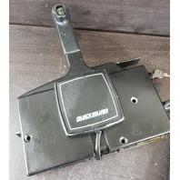 Mercury Quicksilver Side Mount Control Box W/ Key & 14' Harness FOR PARTS/REPAIR