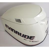 285653 285608 Evinrude E-TEC 2005-08 White Hood Cowling Cover 200 225 250 300 HP