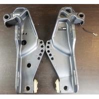 6C5-43111-02-8D 6C5-43112-01-8D Yamaha 2006 & Later Clamp Bracket Set 50 60 HP
