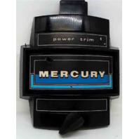 Mercury Front Cover Medallion 1973-1988 75-140 HP
