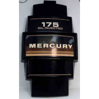 Mercury Front cover medallion V6 175 HP circa 1984-1985