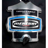 "Mercury Kiekhaefer Thunderbolt Ignition Medallion 9.5"" L x 9.25"" W"