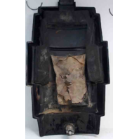 "Mercury Front Cover Medallion 115 HP Power Trim Warp Drive 15-3/4"" L x 8-7/8"" W"