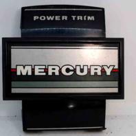 """Mercury Power Trim Medallion Front Cover 7-3/4"""" L x 7"""" W"""
