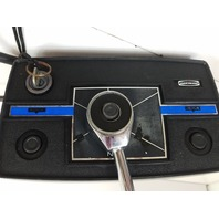 Mercury Side Mount Remote Control Box W/ Key & Harness 12 Pin Male Plug