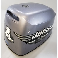 5000419 Johnson Evinrude 1999 Top Cowl Hood Engine Cover 25 35 HP 3 Cylinder