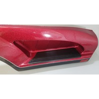 Outboard Marine Metallic Red Fiberglass Boat Trailer Fender NEW TAKE OFF!
