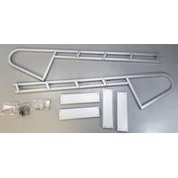 "NOS! Starr Industries 4 Step Pontoon Ladder 16"" Wide x 46"" Length 64.5"" 17 LBS"