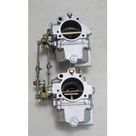 386905 386904 C#318505 Johnson Evinrude 1975 Carburetor Set 50 HP REBUILT!