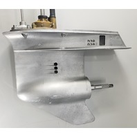 """1 YEAR WTY Mid '75-1988 Johnson Evinrude 20"""" Lower Unit 60 65 70 75 HP 3 cyl"""