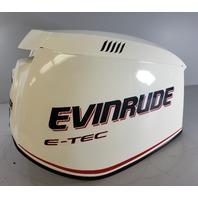 285653 Evinrude E-TEC ETEC 2005-2008 White Hood Cowling Cover 200 225 250 300 HP