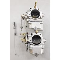 REBUILT! 384235 384236 C# 315082-D2 Johnson Evinrude 1971-73 Carburetors 50 HP
