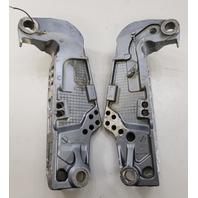 67F-43111-00-4D Yamaha 1999-2006 Clamp Bracket Set 75 80 90 100 HP 4 Stroke