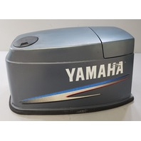 6H1-42610-80-4D Yamaha 2002 & UP Hood Cowling Engine Cover 90 HP 3 Cyl 2 Stroke