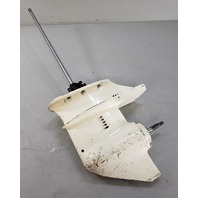 """FOR PARTS OR REPAIR! 1974-1992 Johnson Evinrude 20"""" Lower Unit 9.9 15 HP 2 cyl"""