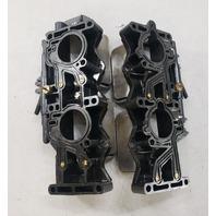 436893 436894 Johnson Evinrude 1995-06 Intake Manifold w/Reeds 90 100 105 115 HP