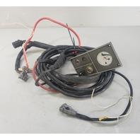 383634 312694 Johnson Evinrude 1969 Instrument Cable & Dash Panel 85 115 HP V4