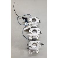 REBUILT! 6H3-14301-0A-00 Yamaha 1992-2003 Carburetor Set 60 70 HP 3 Cyl 2-Stroke