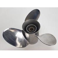 Yamaha 3 Blade LH Stainless Steel Propeller 13 1/4 x 18 15 Splines