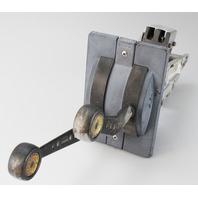 Morse Dual Lever Binnacle Center Mount Control Box ONLY