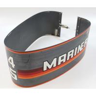 8181A2 Mercury & Mariner Wrap Around Aluminum Engine Cover  45 50 HP Inline 4