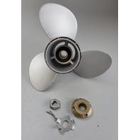 58100-88l62-019 Suzuki 1983 & UP Aluminum RH 11-1/4 x 15 Propeller 35-65 HP