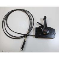 Mercury Side Mount Remote Control Box W/ 15' Cables & Trim Switch OEM!
