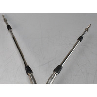 ABACABLE12GY Yamaha Throttle & Control Cable Set of 2 12' NEW OLD STOCK
