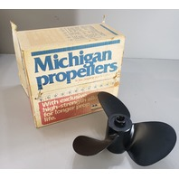 012093 381187 Michigan Wheel OMC RH Aluminum Propeller 14 x 18 NEW OLD STOCK