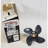 58134-ZW1-017AH Honda 1995 & UP ALUM Propeller 12-3/4x17 60 75+ HP NEW TAKE OFF!