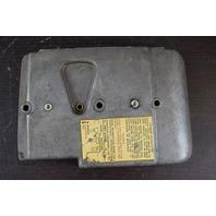 1969 Johnson Evinrude Air Silencer Cover 383666 85 115 HP V4